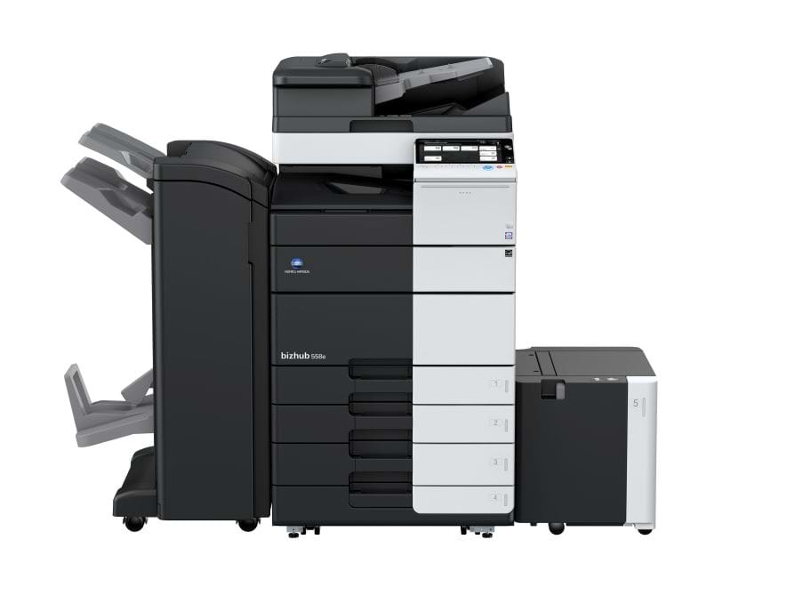 Konica Minolta bizhub 558e office printer